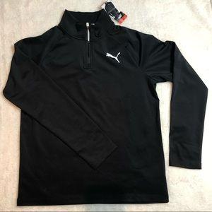 Puma Black Sweatshirt Top